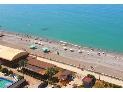 Гранд Отель «Абхазия, Гагра| пляж